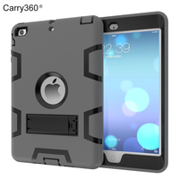 Case For IPad Mini Carry360 Kids Baby Safe Armor Shockproof Heavy Duty Silicone Hard Case Cover