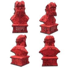 European and American Movies Hero Hellboy Bust 3D Paper Model DIY Handmade Toys