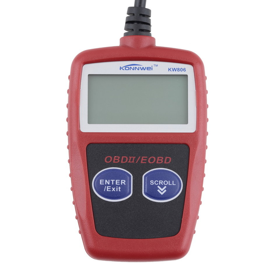 KW806 New Styling Car Code Reader CAN BUS OBD 2 OBDII Diagnostic Scanner Tool Automotive Scan Tool Universal For Car Hot