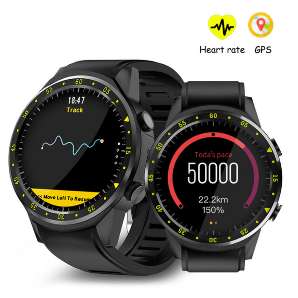 F1 Sports Smartwatch Phone MTK2503 Dual Bluetooth GPS Beidou Heart Rate Sleep Monitor Smart Watch for Android IOS Phone стоимость
