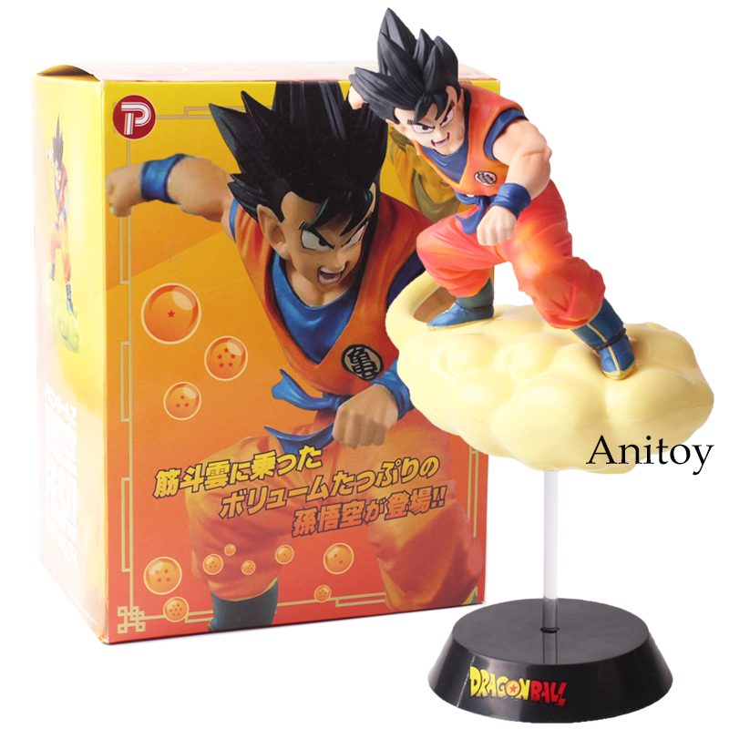 Anime Dragon Ball Z Son Goku  FES!! Somersault Cloud Super Saiyan PVC Action Figure Collectible Model Toy 19cm