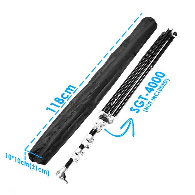 Meking 118cm professionnel support de lumière trépied parapluie équipement sac housse de transport équipement photographique