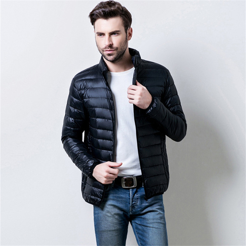 2018 Winter New Men's Long Sleeve   Down     Coats   Business Casual Man   Down   Jackets S-3XL Multi Color Choice