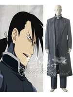 Fullmetal Alchemist Greed Cosplay Costume Anime Custom Made Uniform