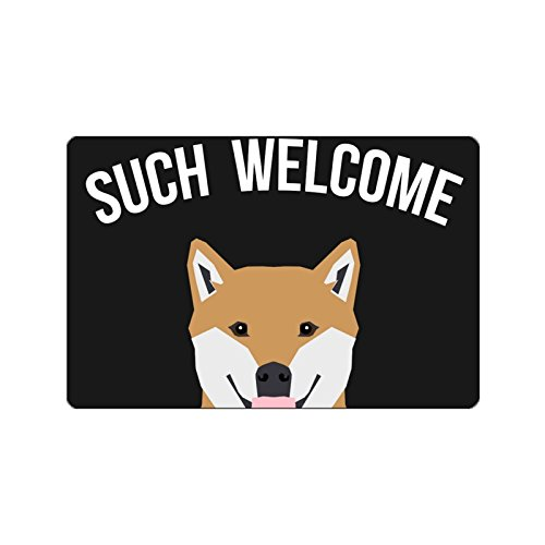 Charmhome Modern Fashion Living Room Such Welcome Doormat Custom Dog