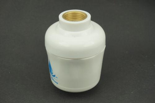 in line shower filter cartridge kdf carbon great for chlorine skin allergies in bathroom. Black Bedroom Furniture Sets. Home Design Ideas