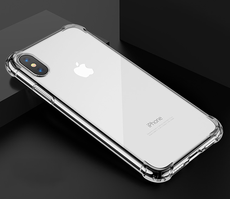 TOMKAS Anti-knock Cases For iPhone X 8 Plus Case Silicone Soft TPU Clear Cover Case For iPhone 6 6S 7 8 Plus X Cases Transparent (11)