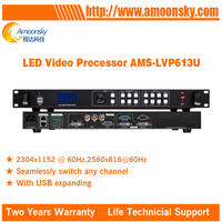 China Supplier AMS LVP613U LED Sign Controller Support Kystar S600 LED Sending Card for Trailer LED Display