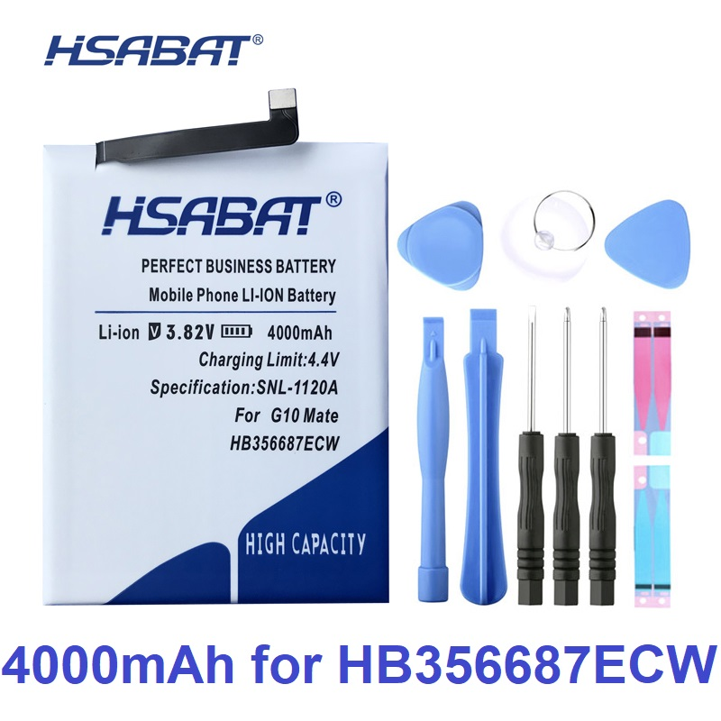 G10 Mate 10 Lite 3340mah Replacement Batteries Hb356687ecw Hua Wei Original Phone Battery For Huawei Nova 2 Plus Nova 2i