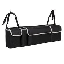 Bagagliaio di Un'auto Organizzatore Sedile Posteriore Sacchetto di Immagazzinaggio di Alta Capacità sacchetto di Oxford Panno Auto Sedile Posteriore Organizzatori Accessori Interni