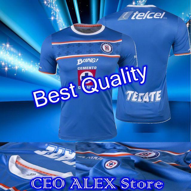 a35a34ed16d 2015 2016 Cruz Azul camisetas De futbol Mexican club Cruz Azul Home Jersey  15 16 Cruz Azul Jersey ShirtsCruz Azul Jersey 15 16