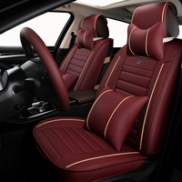Auto Leather Universal car seat covers For CITROEN Elysee PicassoC3 C4 C4l C5 DS4 With Multi Color Silk Breathable Material