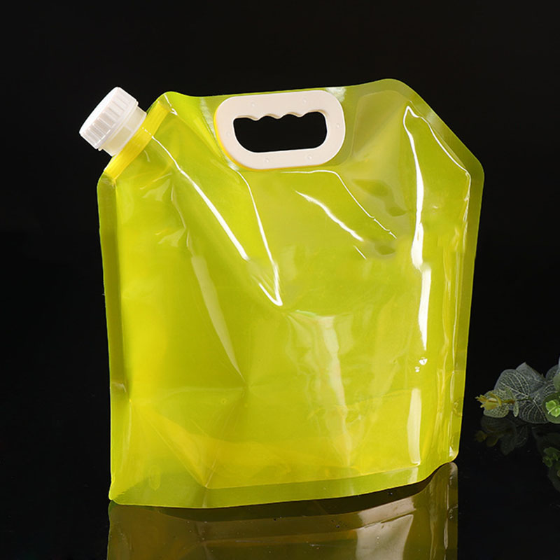 5l 야외 foldable 마시는 물 가방 자동차 물 캐리어 컨테이너 휴대용 대용량 & t8