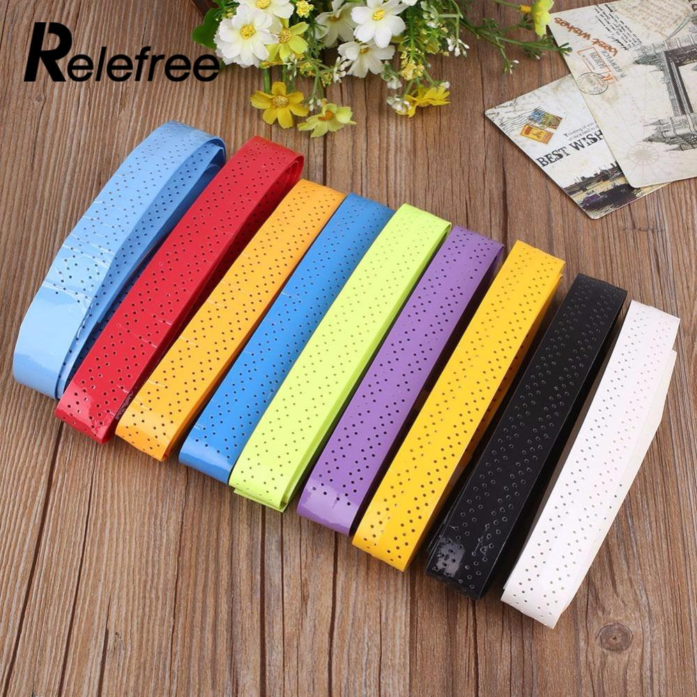 10 Colors Breathable Tennis Badminton Squash Racquet Overgrips Wrap Band Tape Anti-Slip Sweatband