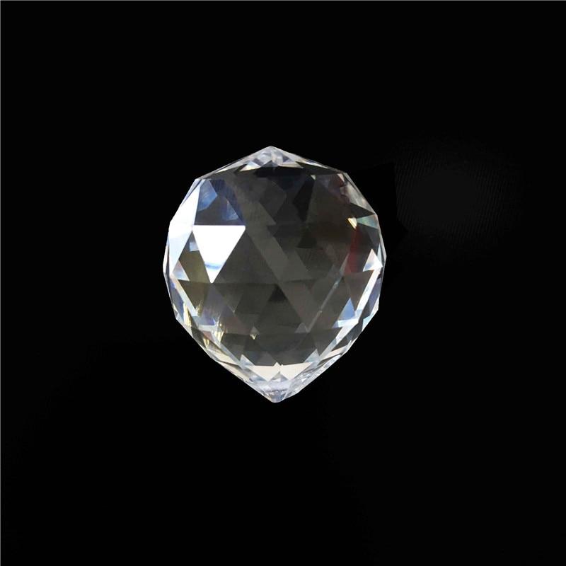 1 Stk / partij 100mm Glas Kroonluchter Ballen Crystal Facet Prisma - Feestversiering en feestartikelen - Foto 1