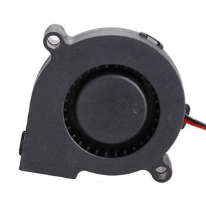 Image 4 - Black Brushless DC Cooling Blower Fan 2 Wires 5015S 12V 0.14A 50x15mm High Quality DJA99
