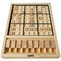 Судоку деревянные настольные игры 31*23*2.5 см В Штучной Упаковке 81 шахматы 40 вопросов головоломки Игрушки