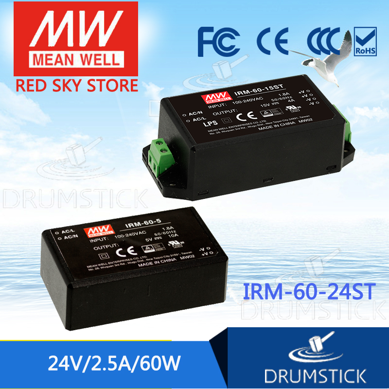 Spezielle bietet MEAN WELL IRM-60-24ST 24 V 2.5A meanwell IRM-60 24 V 60 W Schraube terminal stil