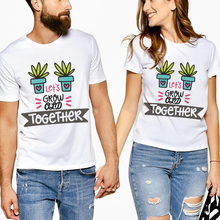 Mr Mrs Letter Print Lovers t Shirt Couples Clothes Casual Short Sleeve Tees Tops Brand Cotton Summer Beach Boyfriend 2019 New