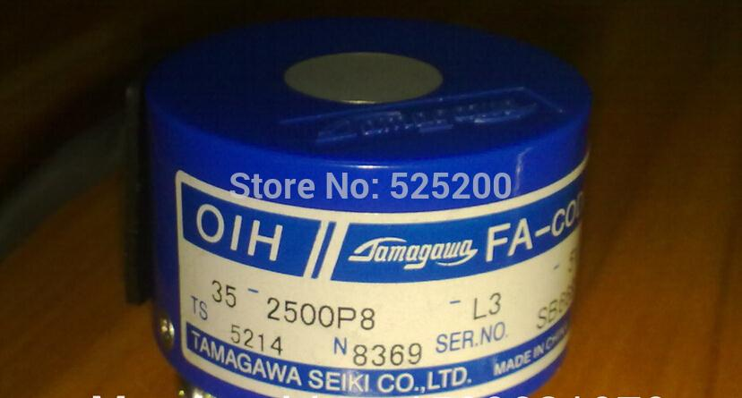 free shipping TS5214N8369 Rotary Encoder TAMAGAWA Resolver ohe 25k 6 ts5170n11 ohe25k 6 ts 5170 n11 rotary encoder tamagawa resolver second hand looks like new tested working