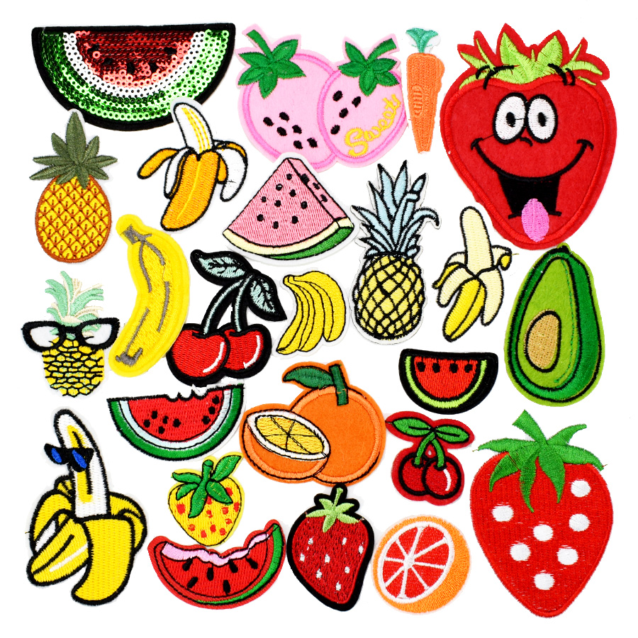 Diy fruit patches for clothing...