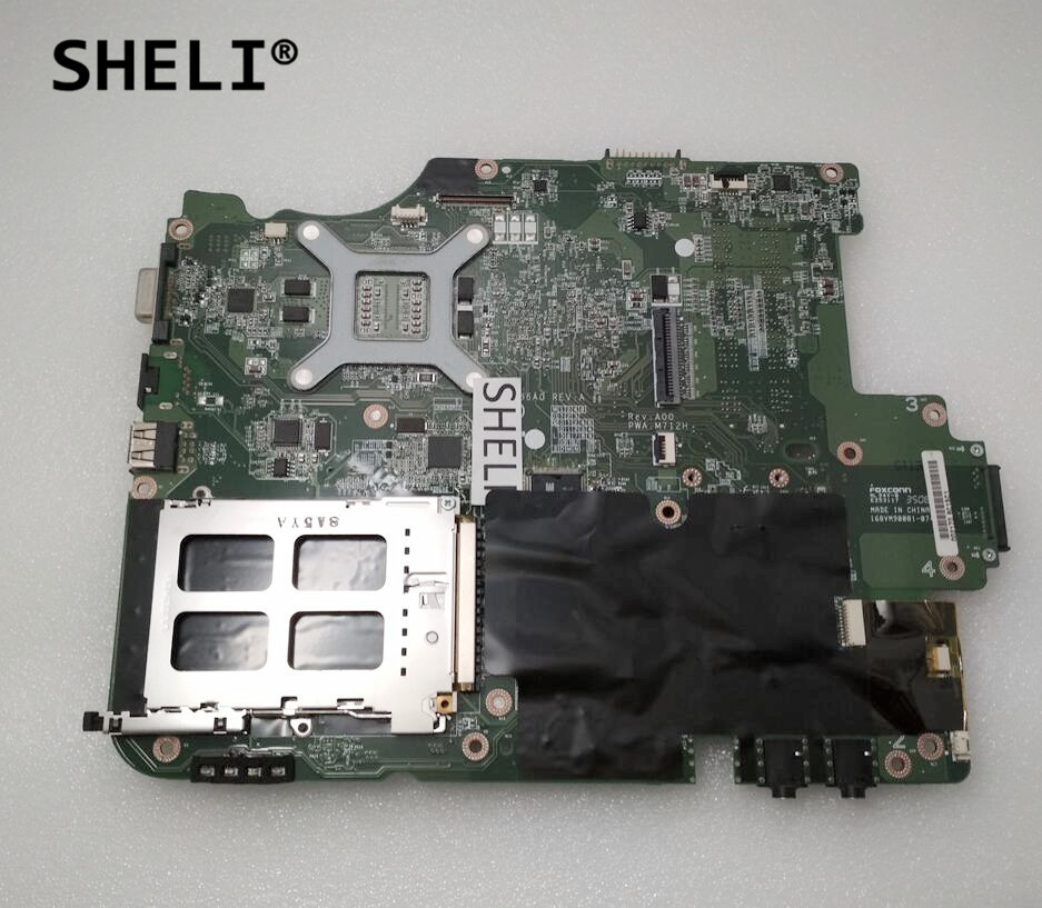SHELI For Dell A860 Motherboard DDR2 SDRAM CN-0M712H 0M712H M712H