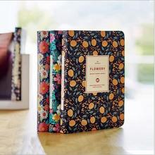 Flowery Planner 2016 2017 Cute Diary Any Year Pocket Journal Kawaii Notebook Agenda Scheduler Memo Korean Study Gift