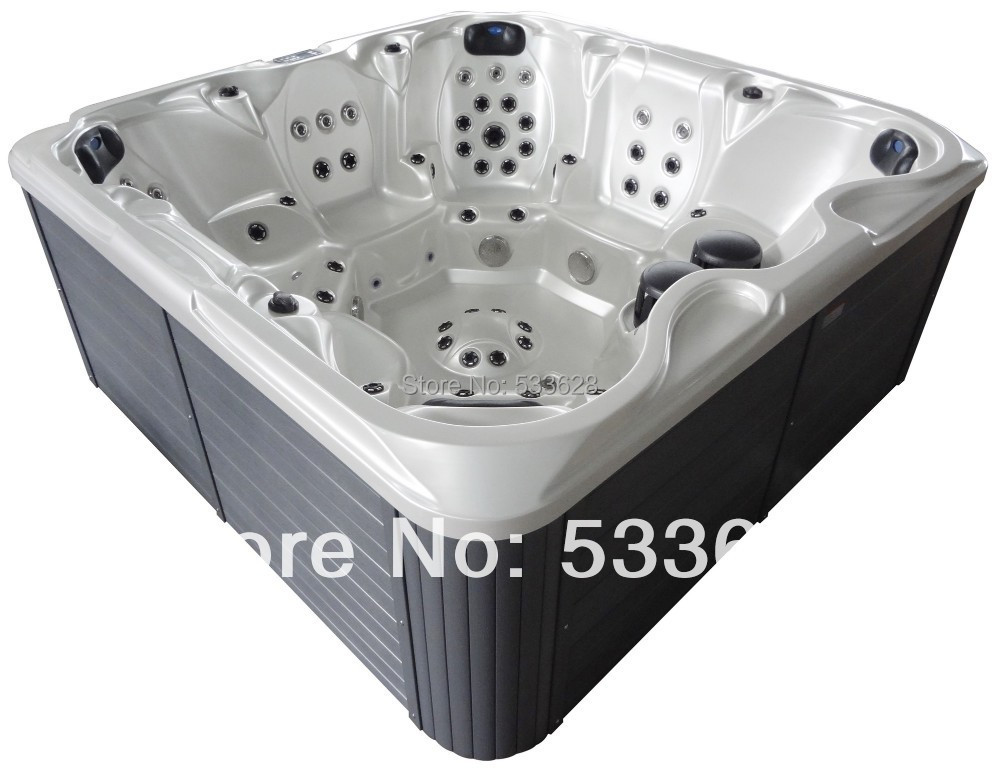 2802 Wholesale portable hot tub whirlpool spa 7 seats for friends ...