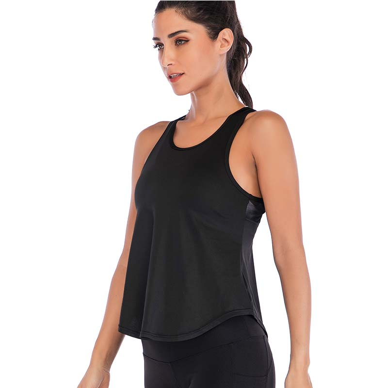 Women Yoga Sports Vest Top 2019 Gym Sleeveless Shirts Tank Tops Sport Fitness outdoor  Running Clothes