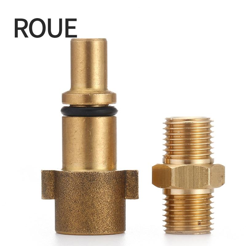 ROUE Gs High Quality Pressure Washer Adapter For Nozzle Foam Generator Gun Soap Foamer For Nilfisk/kew/alto