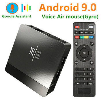 Transpeed TR99 Android 9,0 Smart tv BOX Голосовое управление Amlogic S905X2 LPDDR4 4 ГБ 32 ГБ 64 Гб 2,4 г и 5 ГГц Wifi BT 3D 4 K телеприставка