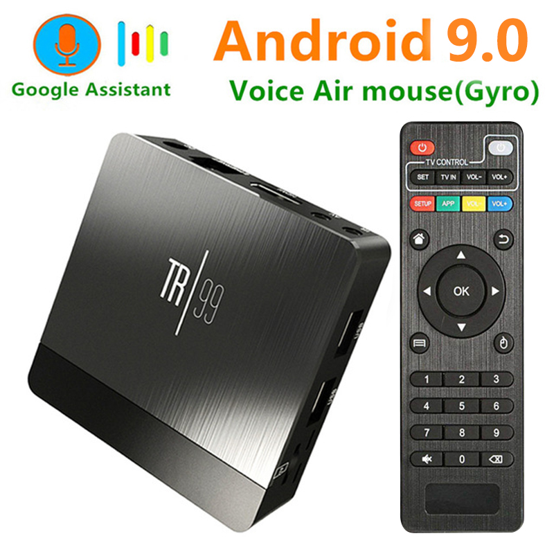 Transpeed TR99 Android 9.0 Smart TV BOX Voice Control Amlogic S905X2 LPDDR4 4GB 32GB 64GB 2.4G&5GHz Wifi BT 3D 4K set top boxTranspeed TR99 Android 9.0 Smart TV BOX Voice Control Amlogic S905X2 LPDDR4 4GB 32GB 64GB 2.4G&5GHz Wifi BT 3D 4K set top box