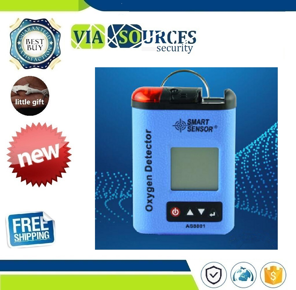 Simmah AS8801 Handheld Oxygen Detector Oxygen Concentration Tester AS-8801 Explosion-Proof AlarmSimmah AS8801 Handheld Oxygen Detector Oxygen Concentration Tester AS-8801 Explosion-Proof Alarm