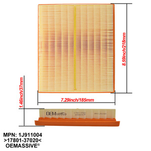Image 4 - For Toyota Prius 2010 2011 2012 2013 2014 2015 XW30 1.8L Air Filter 17801 37020 17801 37021 17801 0T040 17801 0T050 For Prius V