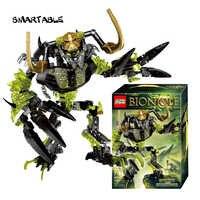 Smartable BIONICLE 191pcs Umarak Destroyer figures 614 Building Block toys Compatible All Brands 71316 BIONICLE Christmas Gift