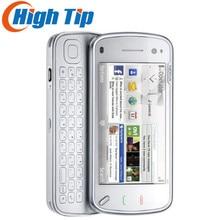 Nokia бренд N97 разблокированный мобильный телефон gps 3g wifi 5MP камера 32GB Внутренняя память Восстановленный