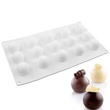 1 шт. антипригарная Силиконовая Круглая шариковая форма мини форма для трюфеля для шоколада форма для выпечки трюфель десерт украшения торта инструменты