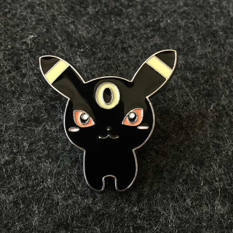 New Hot Cartoon Cute Anime Pokemon Brooch Pins Button Pins Jeans Clothes Decoration Fashion Jewelry Girl Gift Wholesale
