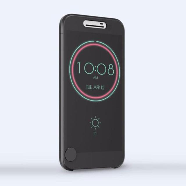 the best attitude 33aaa c9204 US $9.15 |2018 New Arrival Ice View IceView Flip Smart Cover For HTC 10 m10  Case Mobile Phone Accessories In stock Drop shipping-in Fitted Cases from  ...