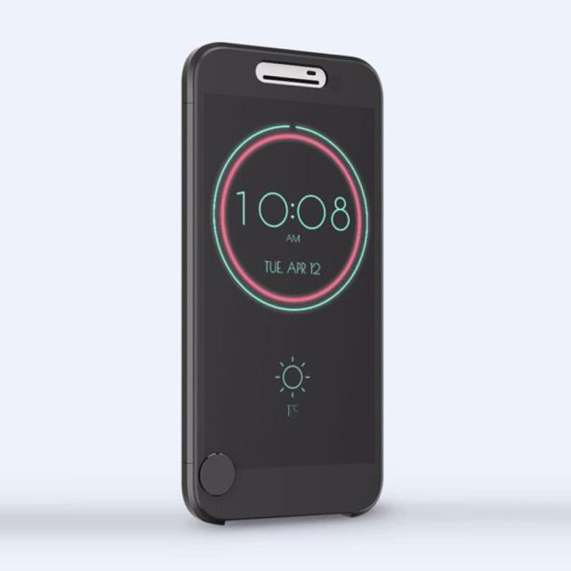 2018 New Arrival Ice View IceView Flip Smart Cover For HTC 1