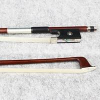 NEW 4/4 Size Carbon Fiber Violin Bow Pernambuco Skin,Good performance,Ebony Frog Violin Parts Accessories