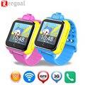 Jm13 niños 3g android smart watch gps lbs wifi ubicación tracker 1.54 pantalla táctil sos supervisan el perseguidor anti-perdida cámara reloj de pulsera