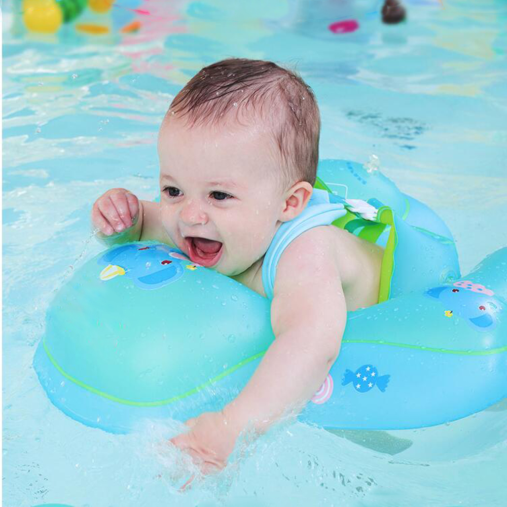 Baby Inflatable Ring Infant Armpit Floating Baby Float Kids Swim Pool Accessories Double Circle Bathing Inflatable Raft Ring Toy