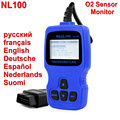 Nexlink NL100 OBD2 Automotive Tools For Engine Analyzer ECU Code Reader with O2 Monitor Test Car Scan Tool NL100 OBD2 Scanner