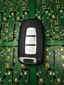 Бесплатная Доставка в Исходном Размере Для Kia Для Hyundai IX35 Solaris 3 Кнопки Автомобиль Smart remote key 433 МГц с ID46 чип