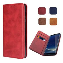 Classic Strong Magnet Leather Case Flip Book Cover for Sony Xperia XA1 XA2 Ultra X XZ1 XZ2 XZ3 XZ4 Compact Premium