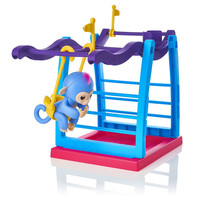 New Jungle Swing Gym Playset Interactive Baby Monkey Climbing Stand Toy B Dropshipping Zzz