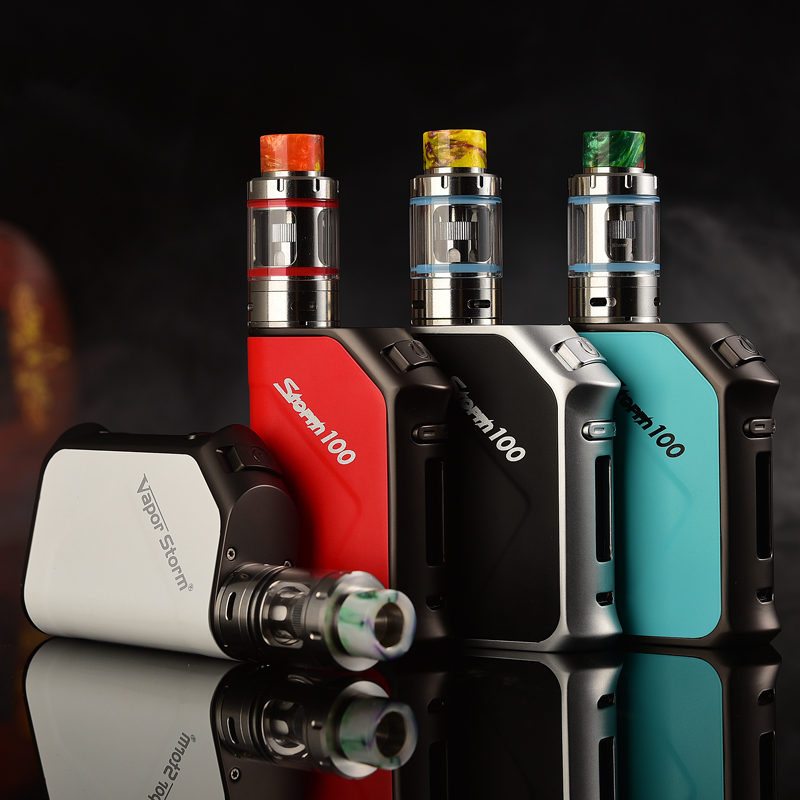 electronic cigarette vapor storm 100w -2