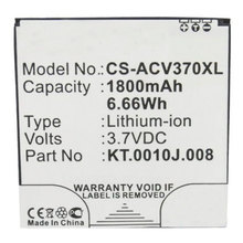 Free shipping high quality mobile battery for Acer Liquid E2  V370 E2 Dou with good quality