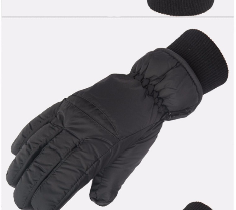 2017 Top Quality New Brand Men's Ski Gloves Snowboard Snowmobile Motorcycle Riding Winter Gloves Windproof Waterproof Snow Glove 4